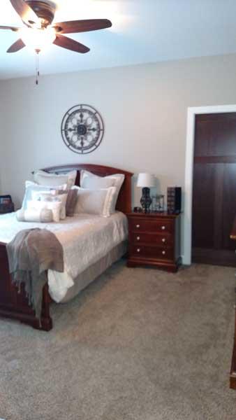 bedroom by jbs builders