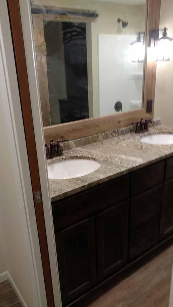 Bathroom remodel, sinks