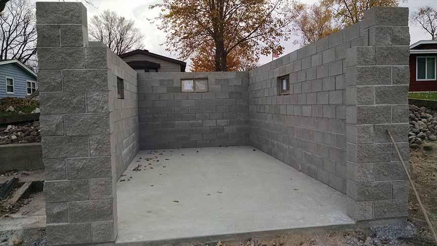 New boat house development