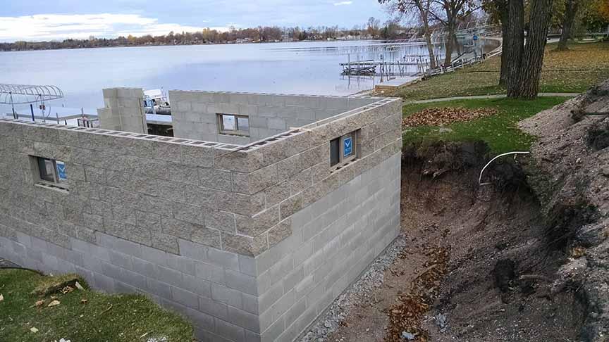 Boat house development