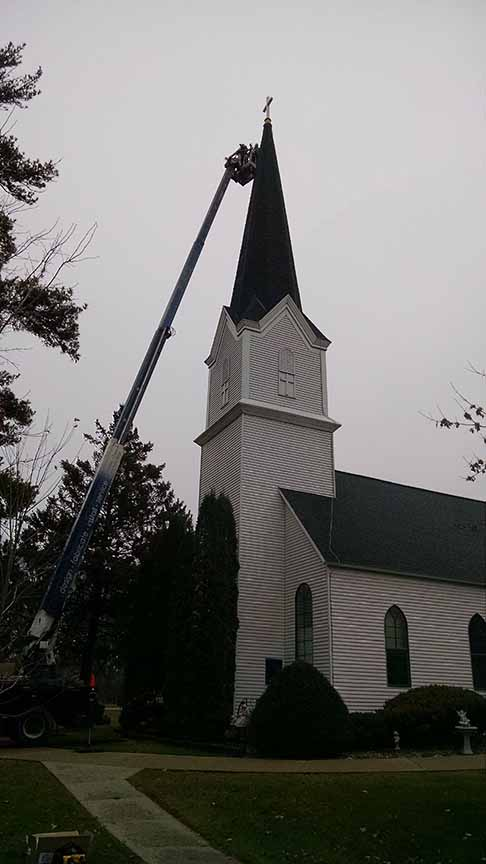 Church Steeple Restoration