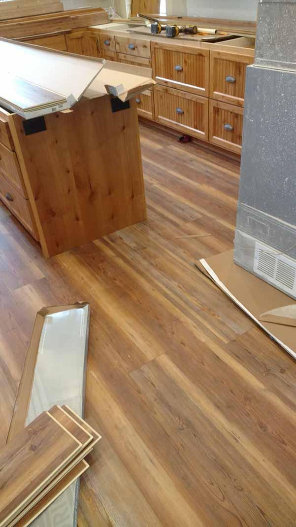 Lake home kitchen remodel