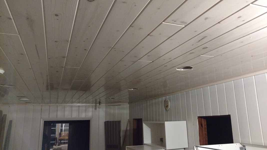 Lake home ceiling