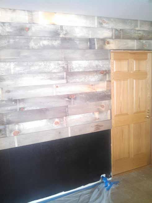 Rustic wall design
