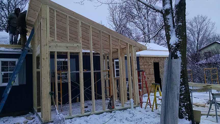 Lake Home Remodeling Restoration Richville Perham
