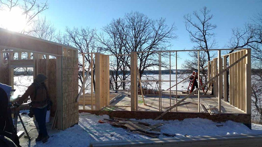 New Lake Home Construction Richville Perham